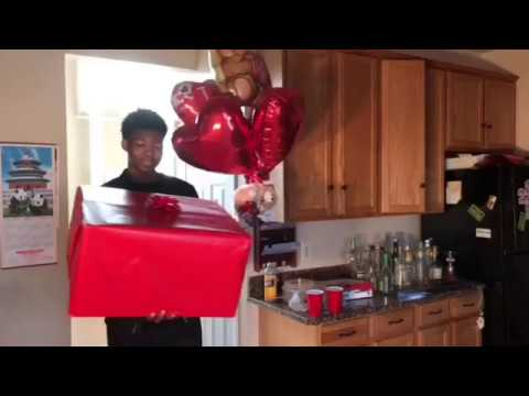 GIVING YOUR EX A GIFT ON VALENTINES DAY! ( XXXTENTACION )