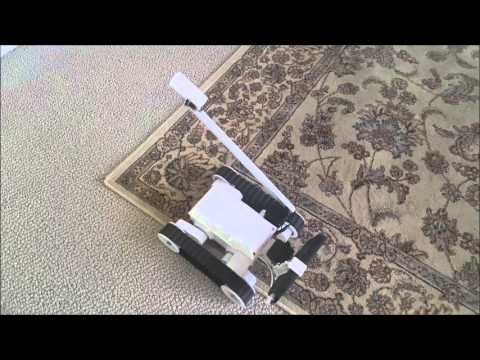 RambleBot telepresence robot in action
