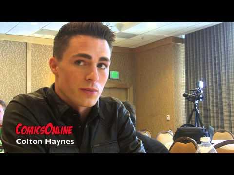 SDCC 2014: ARROW - Interview with Colton Haynes