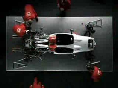 Audi R10 TDI Commercial Le Mans