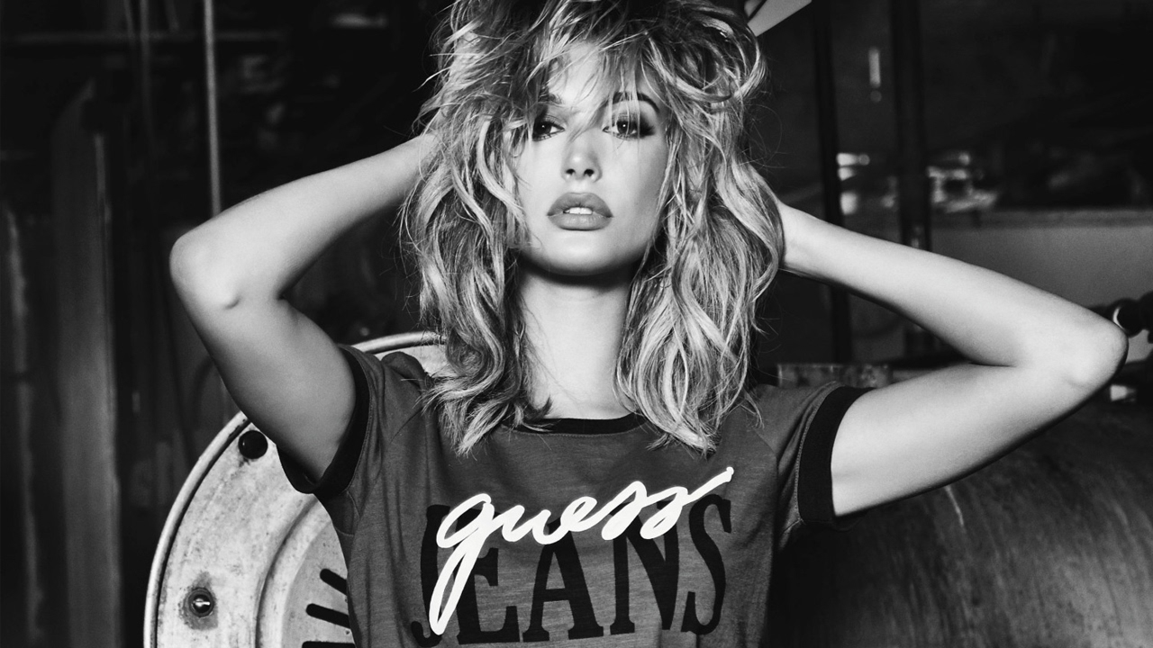Watch Hailey baldwin for guess video