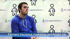 Farmers Insurance Interview - marketing coordinator