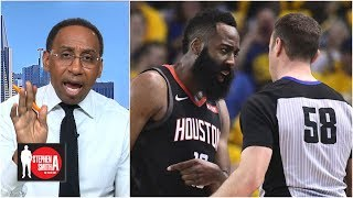 Fact checking the Rockets' complaints on officiating in 2018 | Stephen A. Smith Show