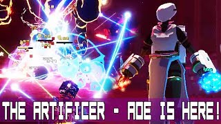 Risk Of Rain 2 The Artificer Aoe Is Here Stats, guides, tips, and tricks lists, abilities, and ranks for artificer. risk of rain 2 the artificer aoe is here