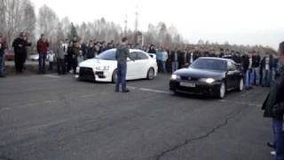 Mitsubishi Lancer Evolution vs Nissan Skyline
