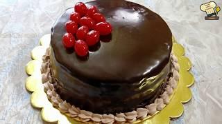 Chocolate Truffle CakeEggless Chocolate Cake RecipeWithout OvenHow to Make Chocolate Truffle Cake