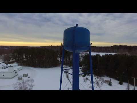 Harpswell, Maine. Drone flight.