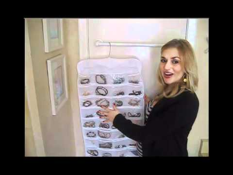 Hanging Jewelry Organizer - 72 Pocket