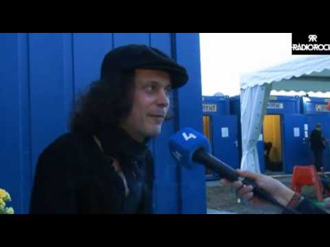 Interview with Ville Valo by Radiorick at Ruisrock 2013 part 2