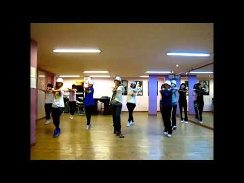 T-ara  Dance practice I'm really hurt