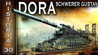 Dora - Schwerer Gustav - największe działo w historii