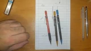 versatil kalemler (0.5 uçlu kalem incelemesi)