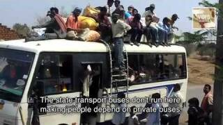 Crowded Buses on Potholed Roads: Rural India Crippled by Poor Transport