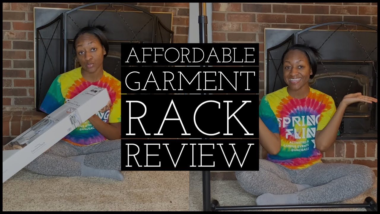 mainstays rolling garment rack review
