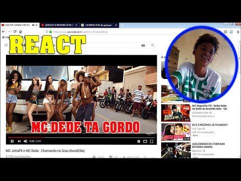 REACT - MC JottaPê e MC Dede - Chamando no Grau (KondZilla)