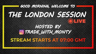 LIVE Forex Trading - LONDON, Mon, Mar, 9th