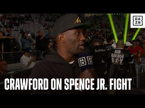 """""""THAT'S HISTORY!"""" Terence Crawford Says Errol Spence Jr. Fight WON'T Happen"""