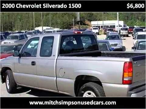 Mitch Simpson Used Cars >> 2000 Chevrolet Silverado 1500 Used Cars Cleveland GA - YouTube