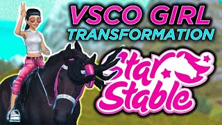 TURNING INTO A VSCO GIRL + CHANNEL MEMBERSHIP | Star Stable Online