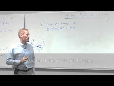 Dr. Todd Carran 5 of 6 Lectures: Relapse