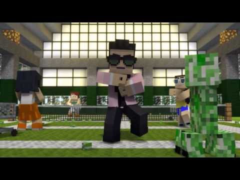 """""""Minecraft Style"""" - A Parody of PSY's Gangnam Style FREE DOWNLOAD"""