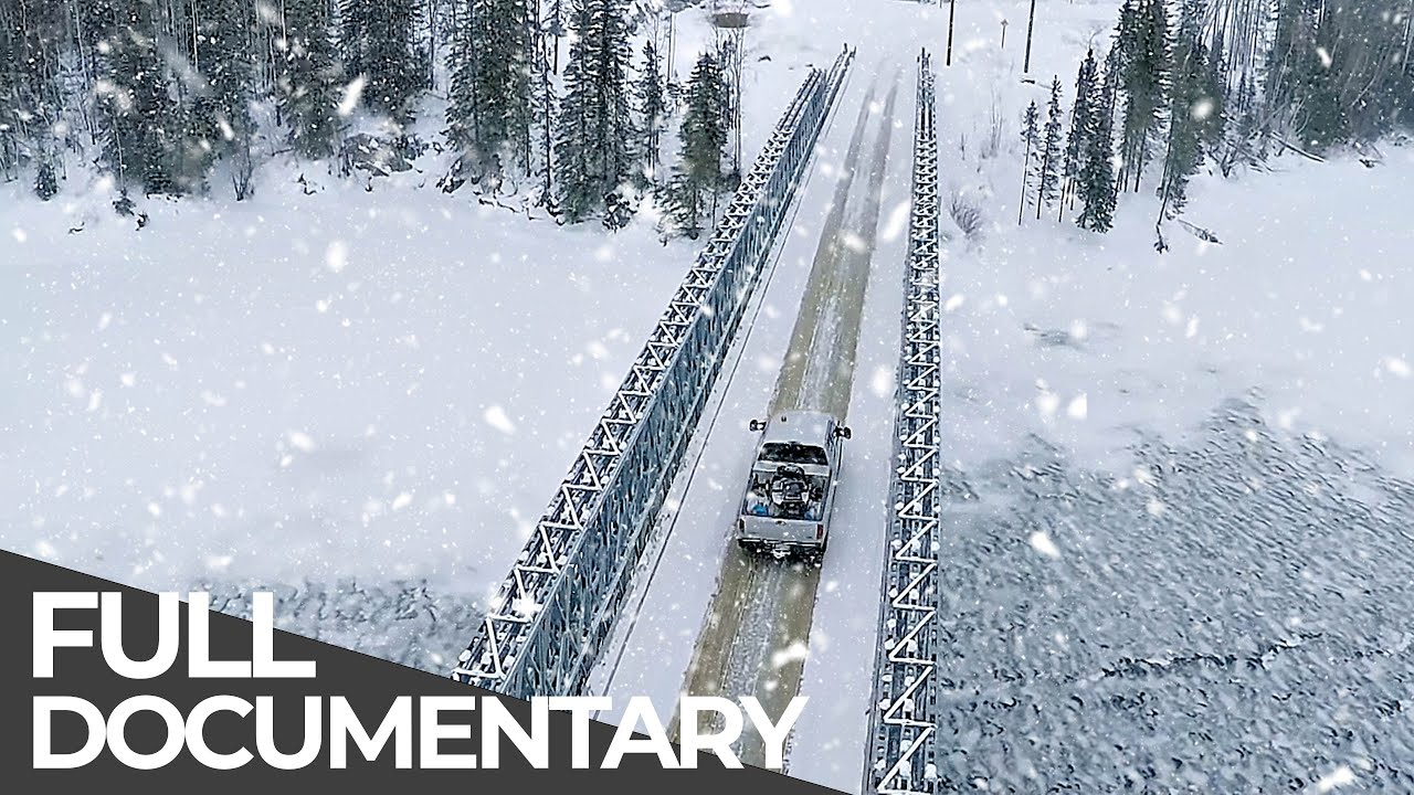World's Most Dangerous Roads | The Canadian Ice Roads | Free Documentary