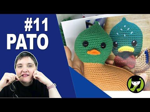 Pato amigurumi 11