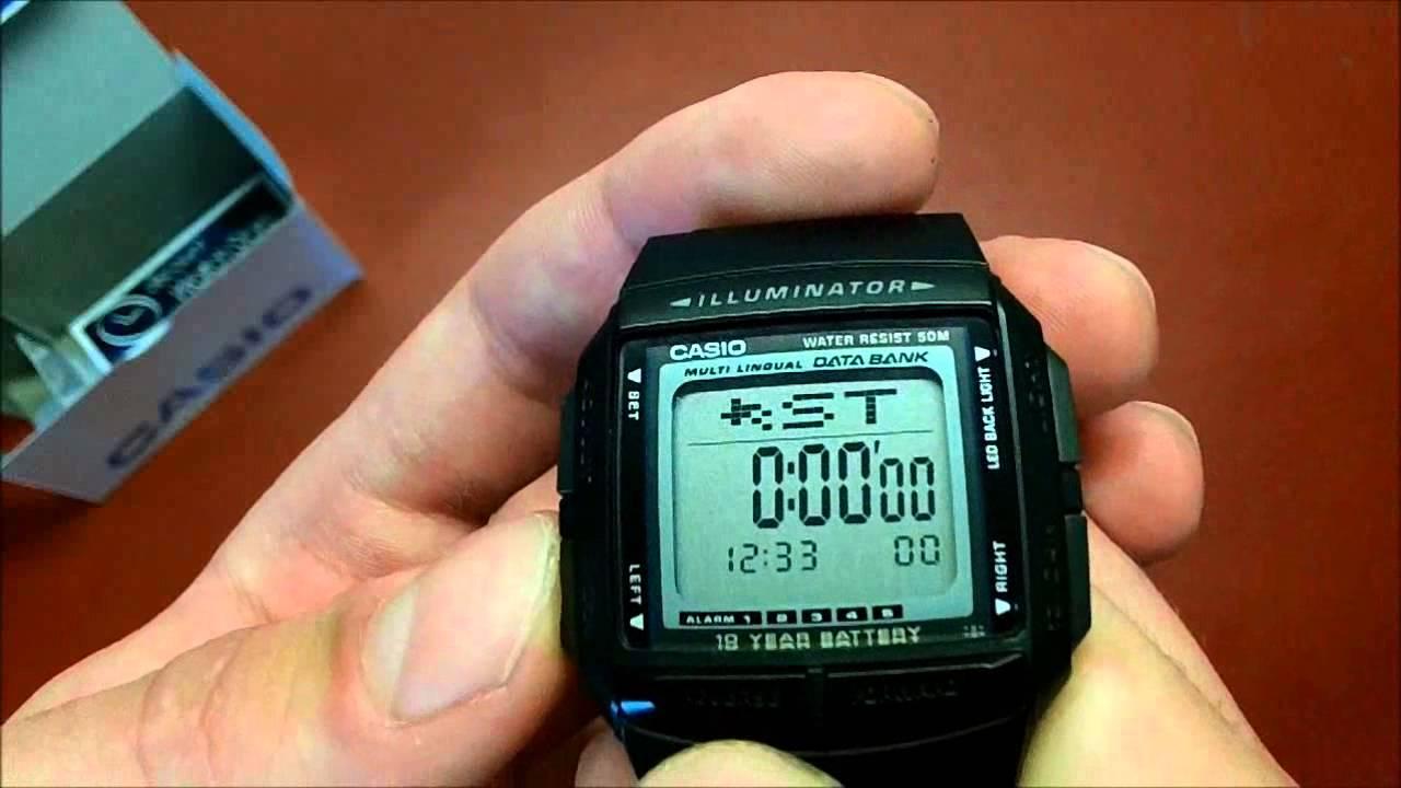 1f445bc17c02 Reloj Casio Databank por 19