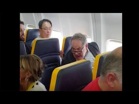 Man goes on racist tirade against elderly black woman on Ryanair flight