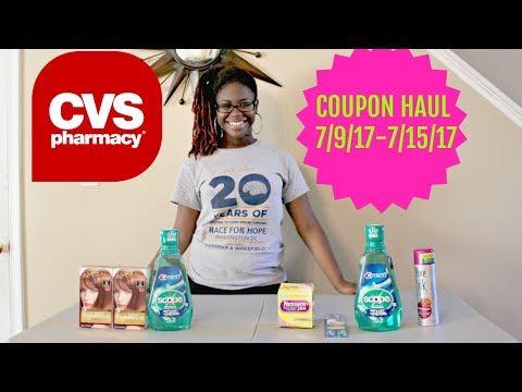 CVS COUPON HAUL | FREE MOUTHWASH |...