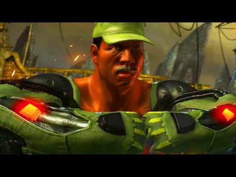 """CARL WEATHERS JAX - Mortal Kombat X """"JAX"""" Gameplay (MKX Online Ranked)"""