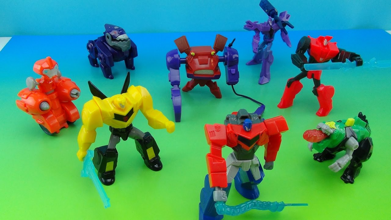 mcdonalds transformers robots in disguise toys