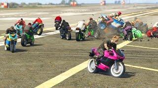 9836485 MOTOS!! QUE HA PASADO?! - CARRERA GTA V ONLINE - GTA 5 ONLINE