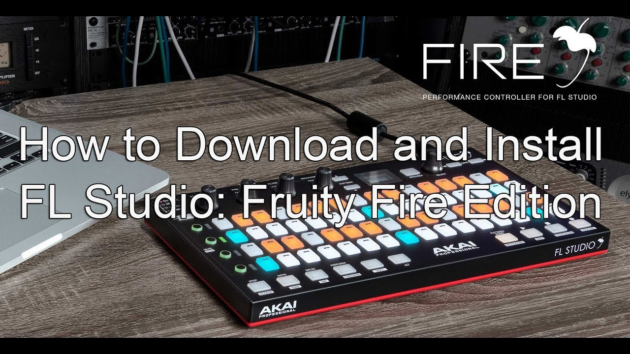 Akai FL Studio FIRE / FL Studio Fire Fruity Edition