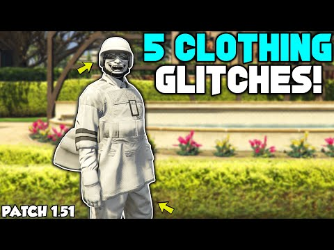GTA 5 ONLINE TOP 5 CLOTHING GLITCHES AFTER PATCH 1.51! (Invisible Torso, Duffel Bag, Any Joggers)