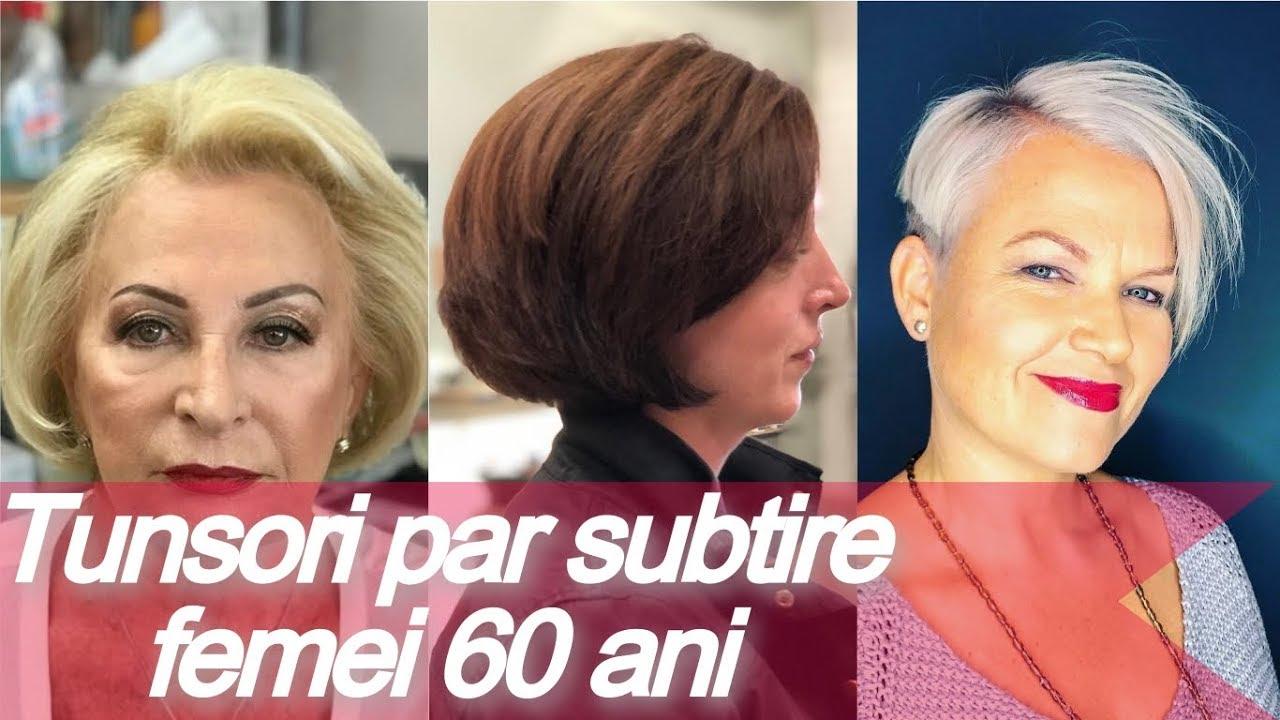 Tunsori Par Subtire Femei 60 Ani Coafuri Par Subtire