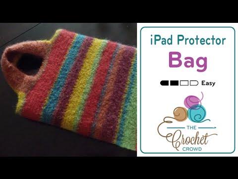 How To Crochet a Bag: iPad Carry Bag
