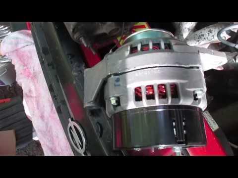 Внешнее сравнение генератора Опель Вектра А  и Нива 21214 - 80 Ампер