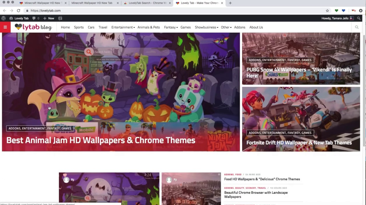 Minecraft Wallpapers Chrome Themes For Free Youtube