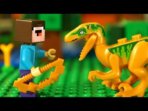 GOLDEN BOW for LEGO Noobik Minecraft - Humor Stop Motion Animation