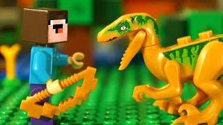 КУДА УЛЕТЕЛ НУБИК ✈️ ЗОЛОТОЙ ЛУК для Лего НУБика в Майнкрафте - Мультфильмы для Детей LEGO Minecraft