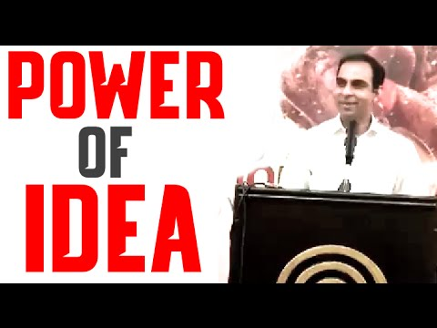 The Power Of Idea - By Qasim Ali Shah (in Urdu/HIndi)