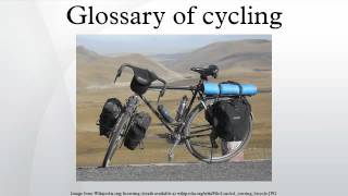 Glossary of cycling