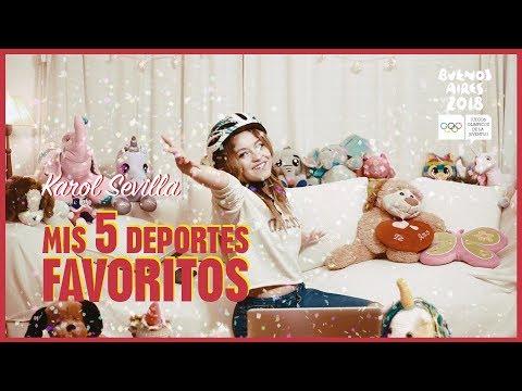 Karol Sevilla I Mis 5 Deportes Favoritos I #5DeportesFavoritos