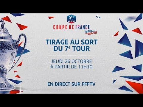 Jeudi 26 coupe de france tirage du 7e tour en direct le replay i fff 2017 youtube - Tirage coupe de france direct ...