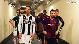 PES 2018 | FC Barcelona vs Juventus F.C | C.Ronaldo to Juventus | Gameplay PC