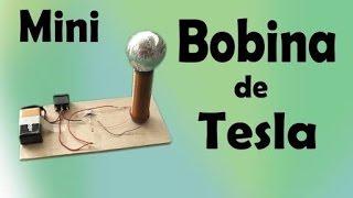 Como fazer uma mini bobina de tesla fácil