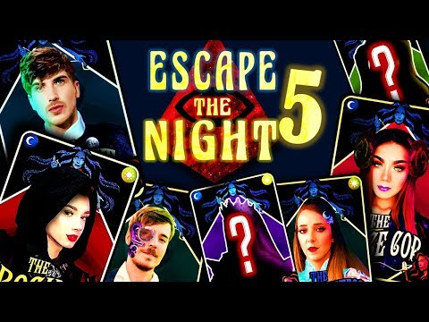 My SEASON 5 Cast   Escape The Night