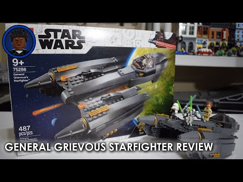 LEGO STAR WARS 75286 General Grievous's Starfighter Review!
