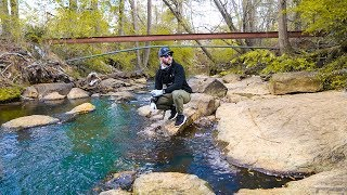 Found Urban Creek FULL of Fish!! (Micro) - Jiggin With Jordan